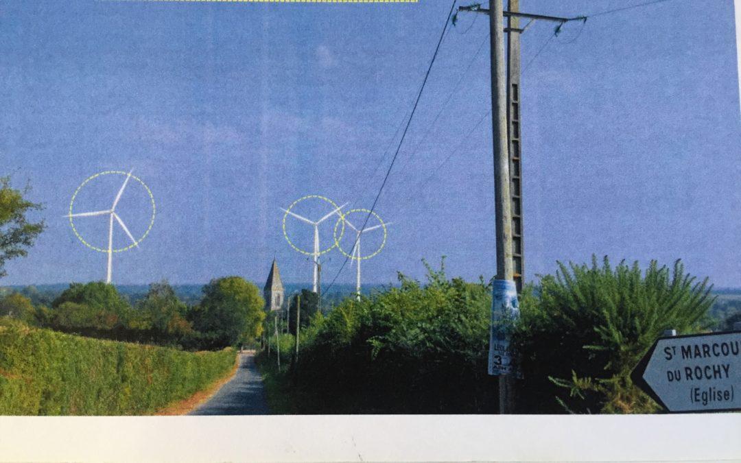 Combat contre les éoliennes: Premier objectif, convaincre les Maires de voter contre